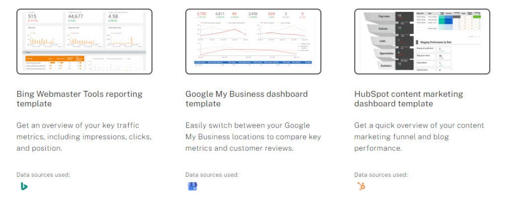 google studio Template