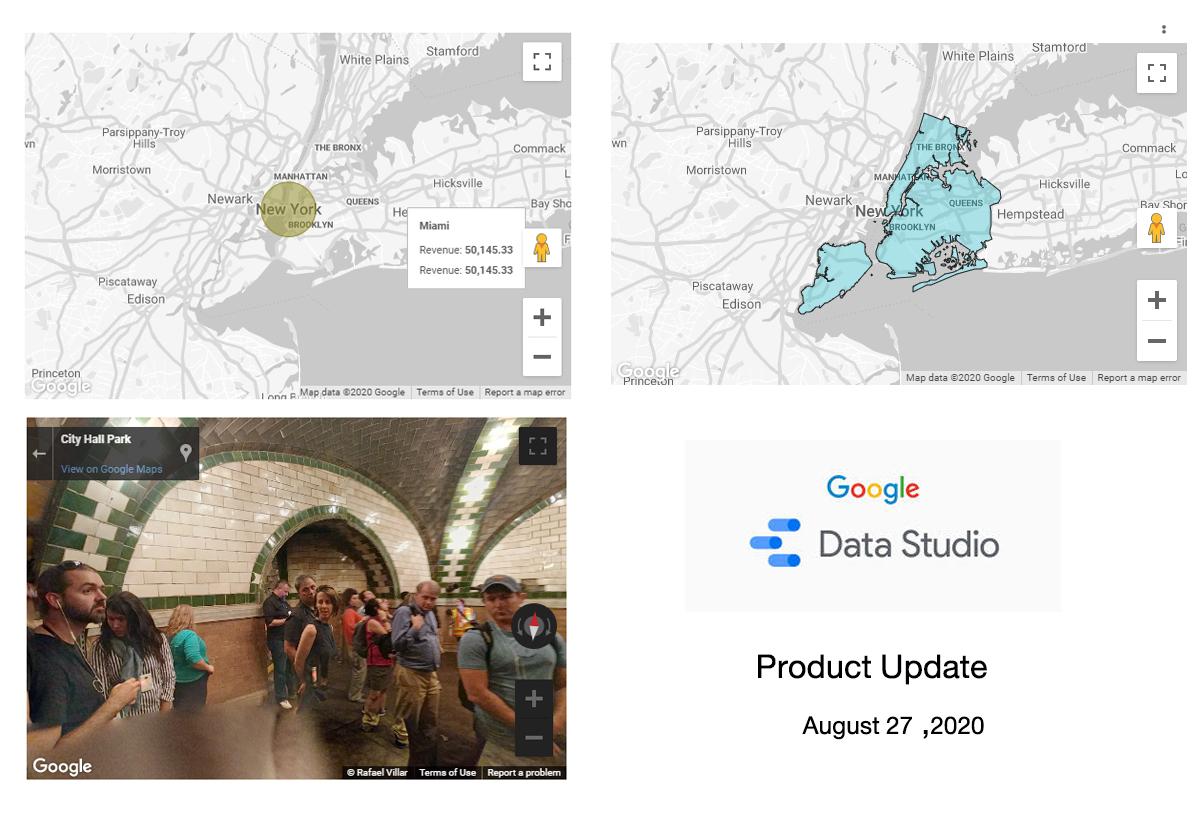Product update google data studio