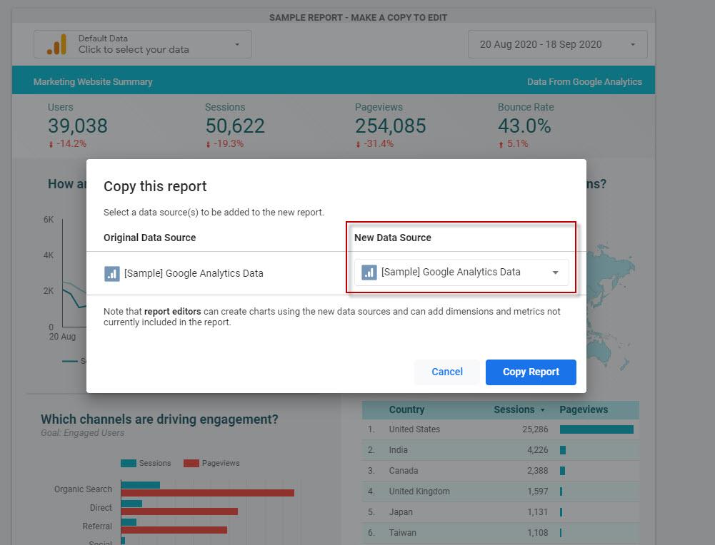 สร้าง Dash Board Google Analytics ไป Data Studio ใน 10 นาที