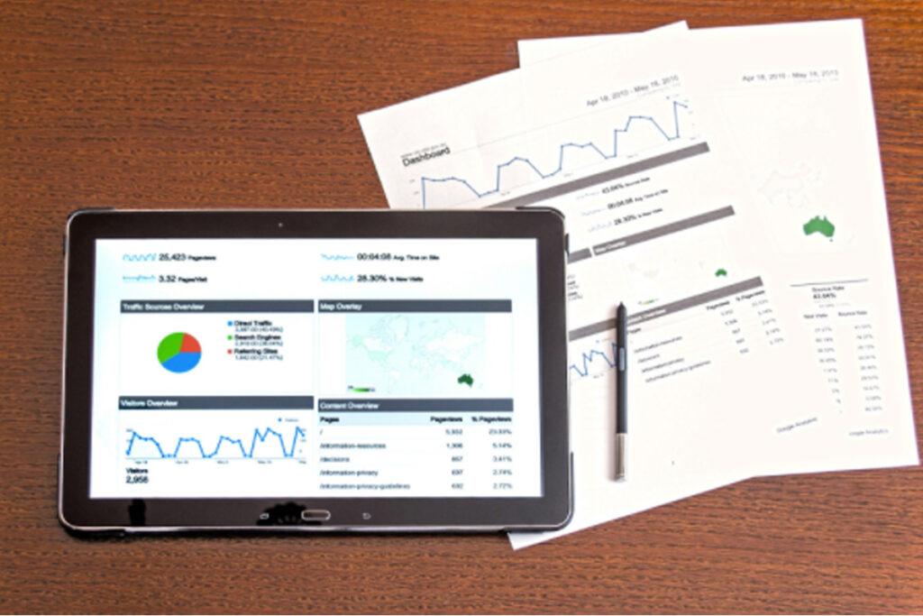 Graph Google data studio